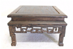 Hardwood display table, Square, Style 02-17
